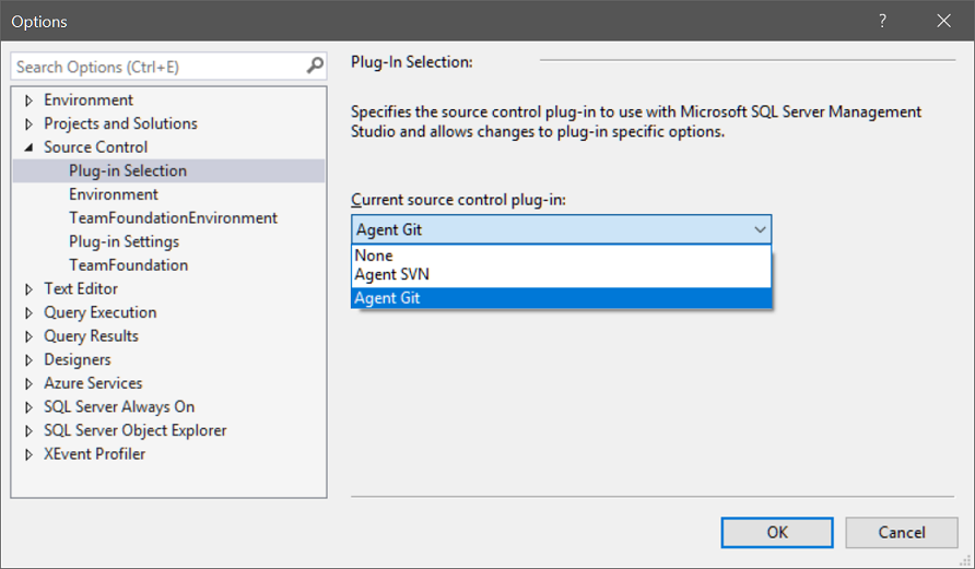 Agent Git - Git plug-in for any MSSCCI IDE including Visual Studio